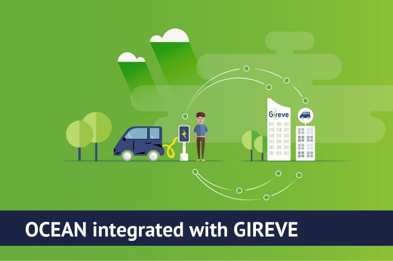 Etrel Ocean integrated with GIREVE